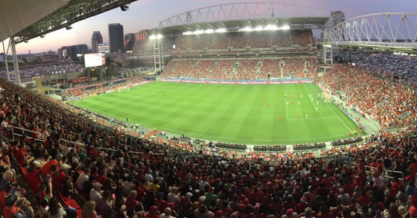 BMO Field in 2016, photo by Pablopicassotoronto - own work, CC BY-SA 4.0, https://commons.wikimedia.org/w/index.php?curid=49759709