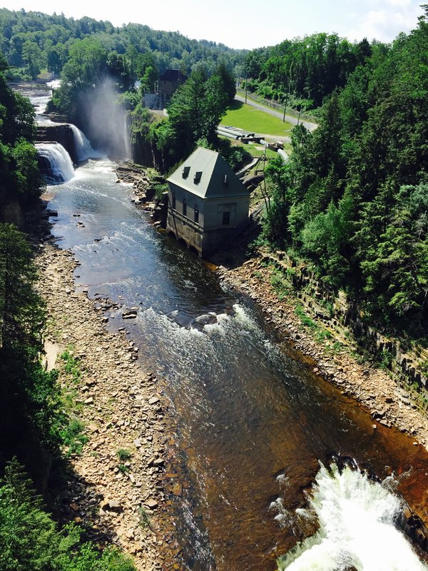 Ausable Chasm in Keeseville, New York