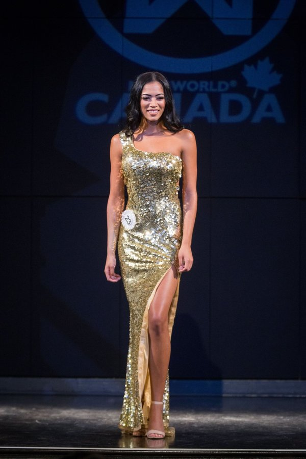 Jada Atkins at Miss World Canada 2017
