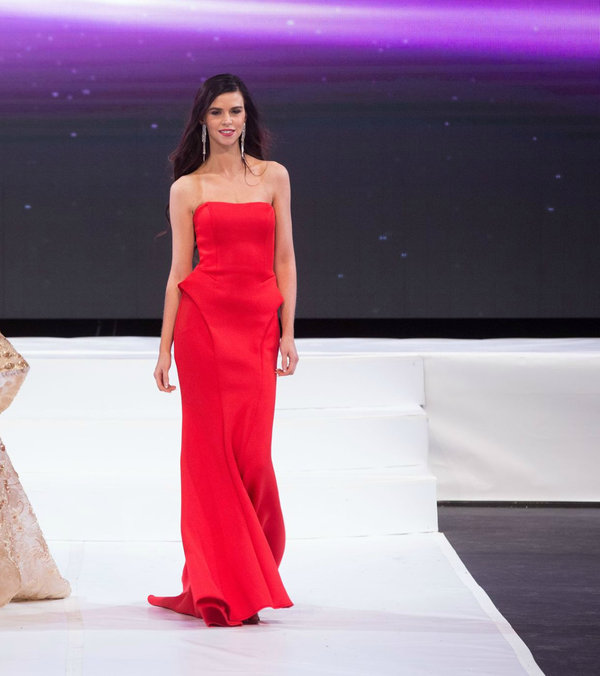 Terin Rothernel at Miss World Canada 2017