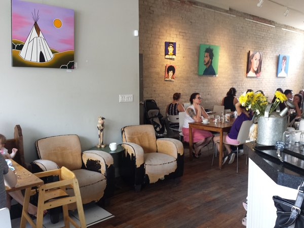 Lazy Daisy's Cafe on Gerrard St. E. in Toronto