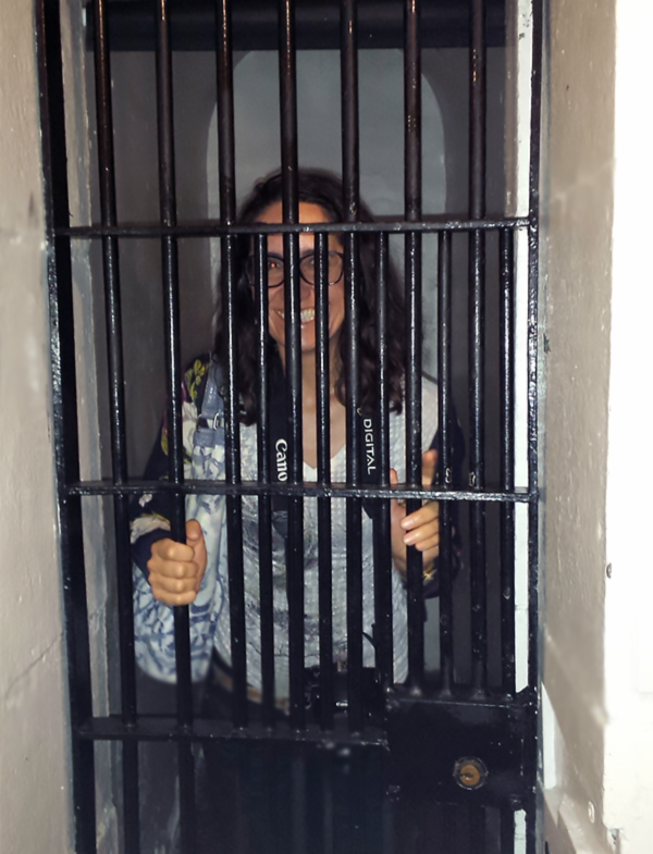 """Taking a """"Cell-fie"""" inside the old Carleton County Jail."""