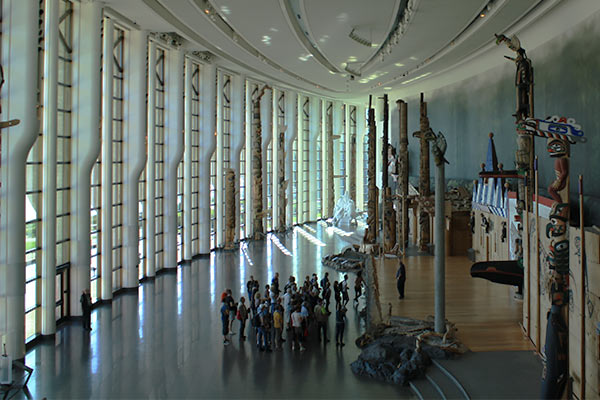 """Soaring totem poles and a panoramic view of Parliament Buildings is one of the top """"Canadian"""" views I know of."""