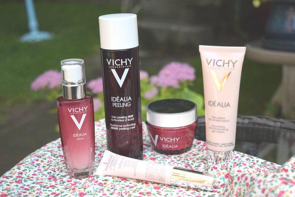 Vichy New Idealia Products