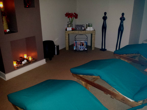Women's Lounge at Novo Spa in Yorkville
