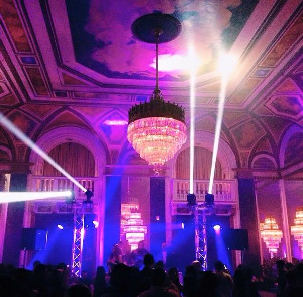 Majestic NYE 2018 at the Fairmont Royal York Hotel in Toronto