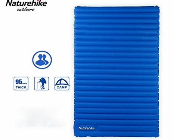 Naturehike Ultralight Double Inflatable Air Mattress Outdoor Sleeping Pad