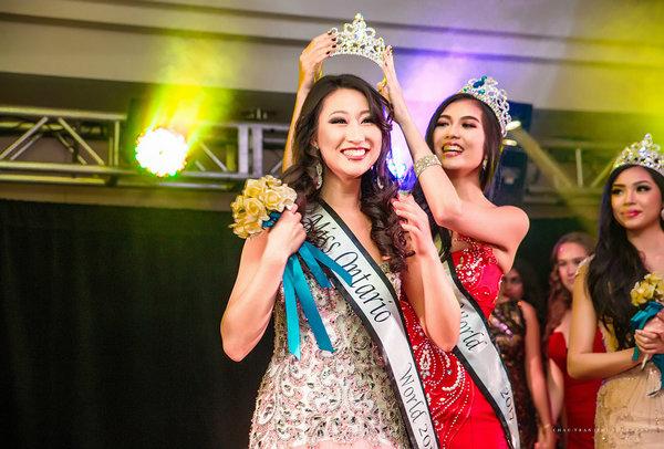 Alice Li, Miss Ontario World 2018, photo credit Chau Tran Photography