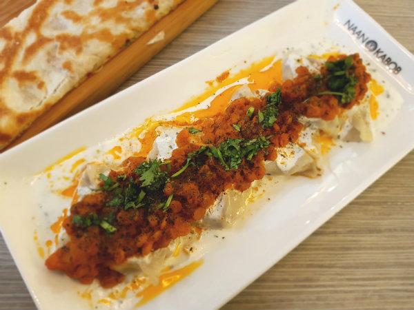 Mantu appetizer at Naan and Kabob Restaurant, Toronto