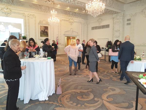 Royal Wedding Afternoon Tea preview at Omni King Edward Hotel