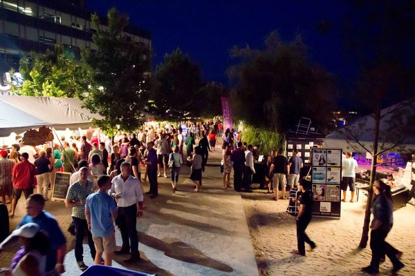 The Toronto Wine & Spirit Festival at Sugar Beach