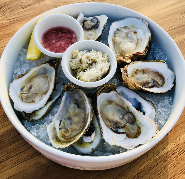 PEI Oysters at Lavelle