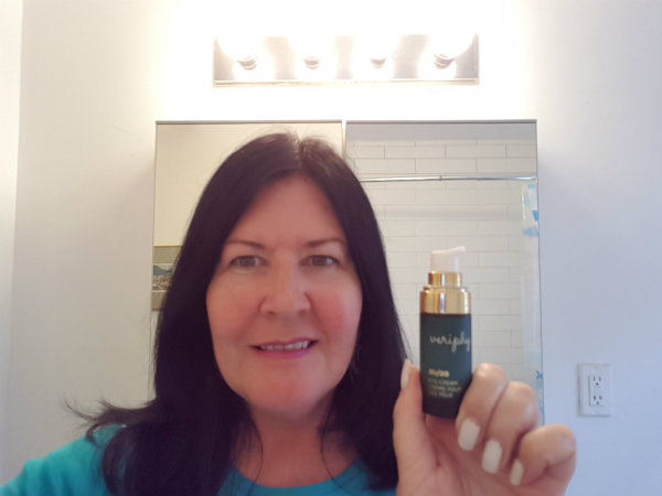 Veriphy Skincare's 20 20 Eye Cream firms and hydrates the eye area and reduces puffiness