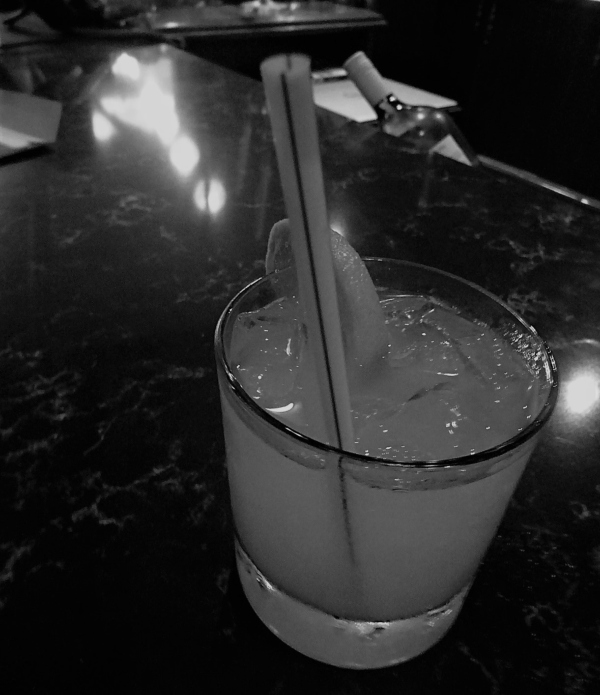 I couldn't decide on a drink, so the bartender at Escape Manor made me a wonderfully whimsical concoction.
