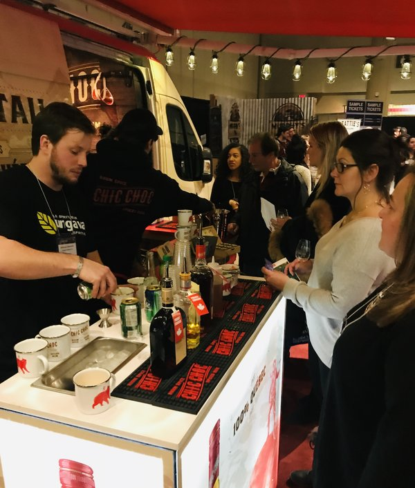 Chic Choc Bar Station at Gourmet Food & Wine Expo 2018