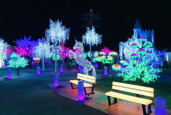 Luminous Garden at Aurora Winter Festival