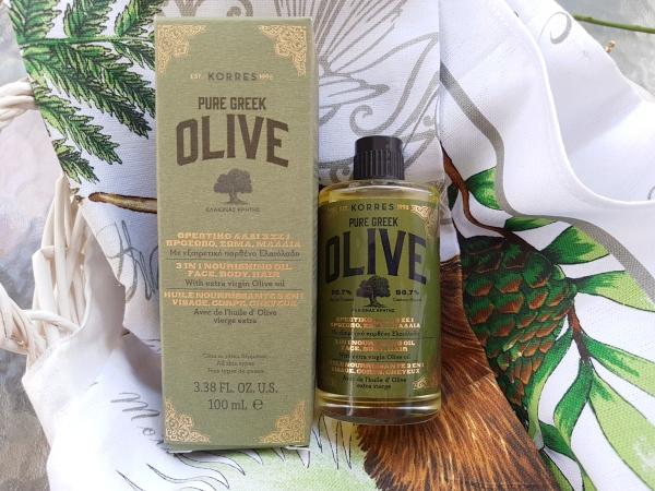 Korres Pure Greek Olive 3 in 1 Nourishing Oil Face Body Hair