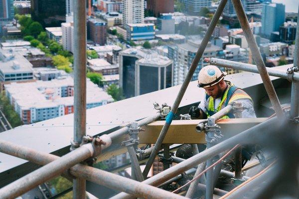 Man doing welding, photo credit Anthony Ginsbrook on Unsplash