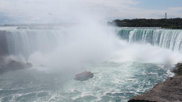 The Hornblower Cruise at Niagara Falls