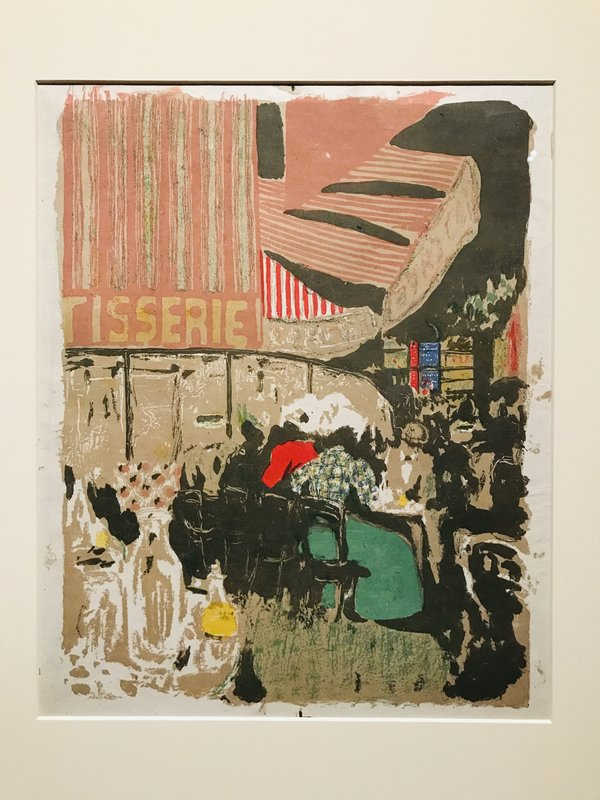 Edouard Vuillard La Patisserie 1899 at Impressionism in the Age of Industry: Monet, Pissarro and more