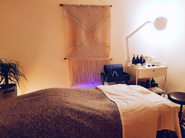 Treatment room at Province Apothecary Skincare Clinic