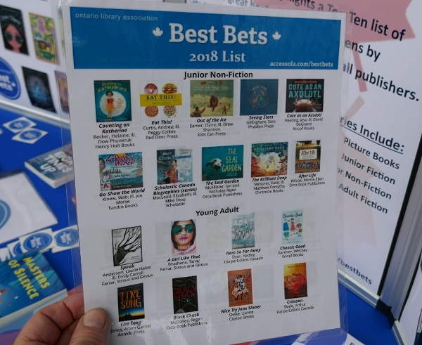 Best Bets reading list for 2018 at The Festival of Trees in Toronto