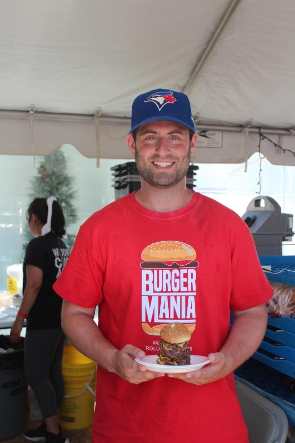 Burgermania founder Adam Panov, photo by Mel Cohen