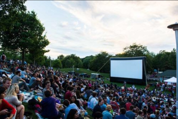 Outdoor movies in summer 2019 at Christie Pits