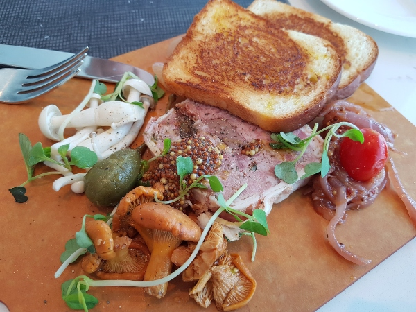 Housemade Country Terrine at 360 Restaurant at CN Tower