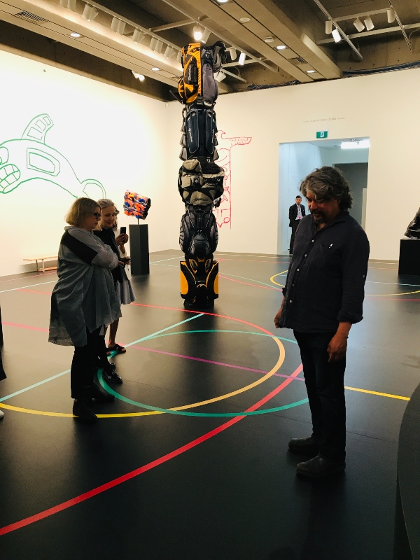Brian Jungen at the Art Gallery of Ontario