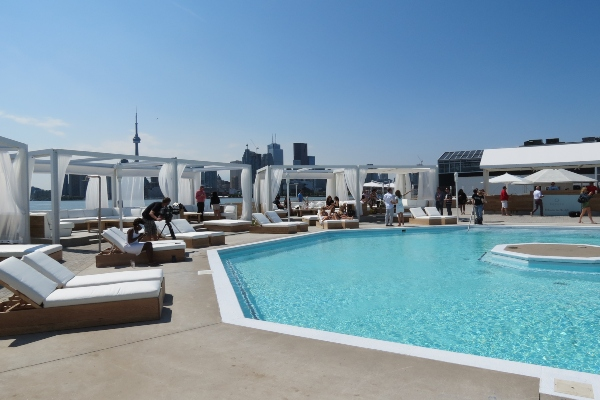 Cabana Pool Bar is one of the best patios in Toronto 2019