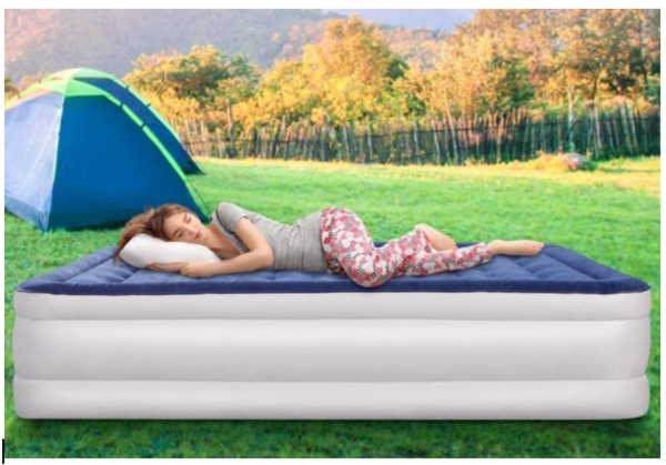 How to prevent back pain while camping.
