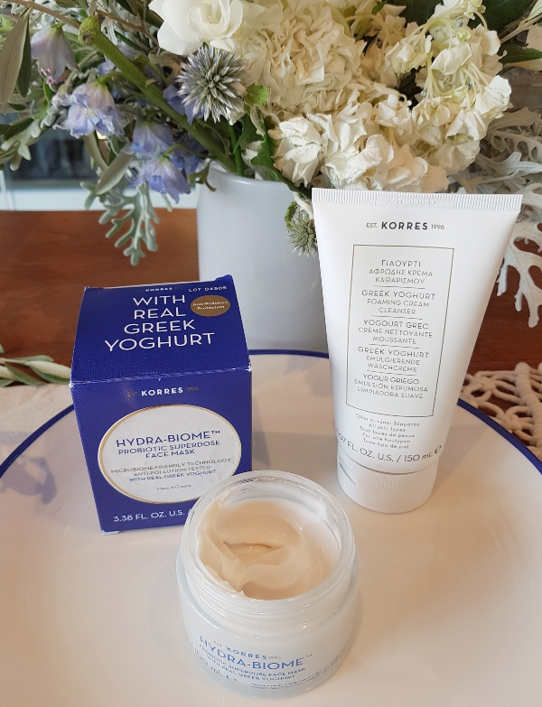Korres Hydra Biome Probiotic Superdose Face Mask is one of the exciting new beauty products for fall 2019
