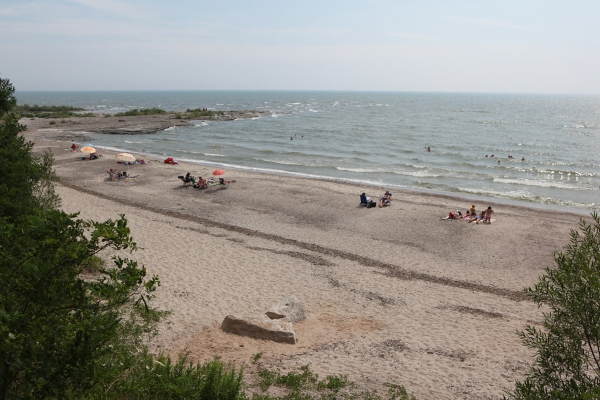 Going to Rock Point Provincial Park, Ontario is one of the best beach day trips from Toronto, photo credit Flickr