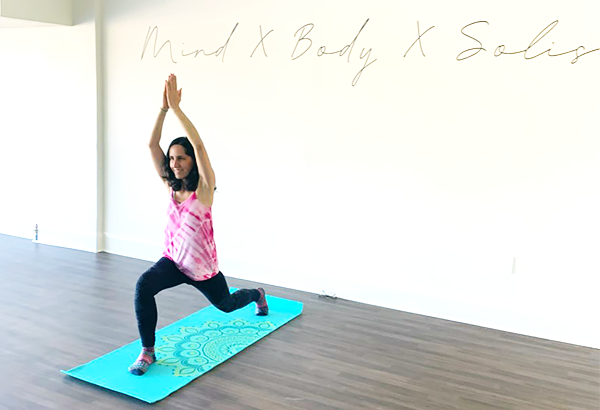 Yogalates at Solis Movement improves your core.