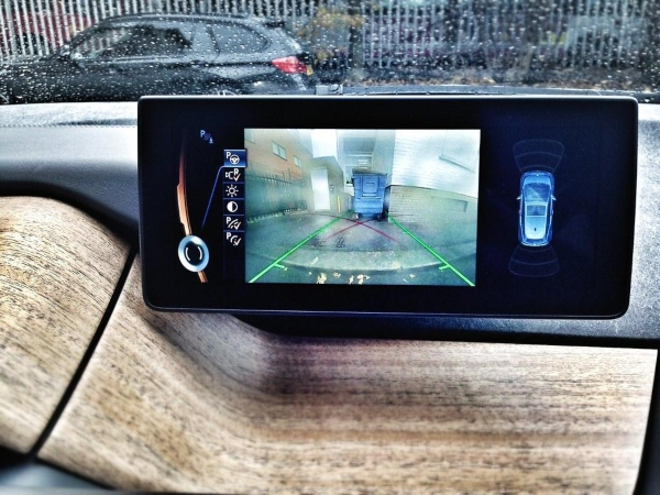 A reverse camera is a cool gadget for your car that helps you drive in reverse.