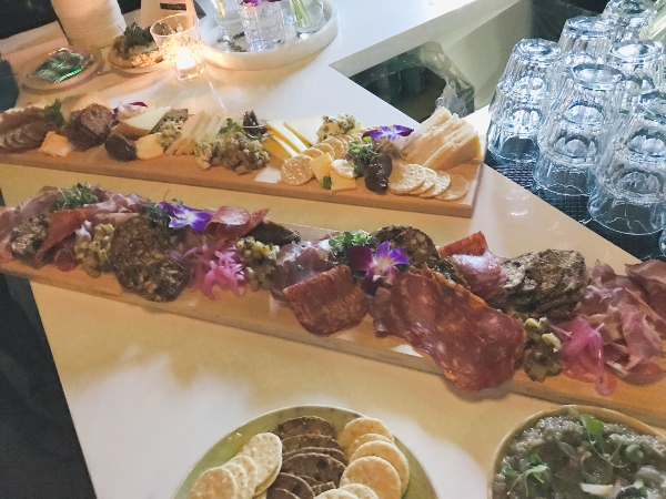 Charcuterie and dips at Casablanca Supper Club