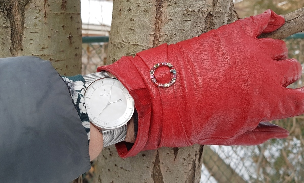 Women's Philosopher Watch in Silver from Nordgreen