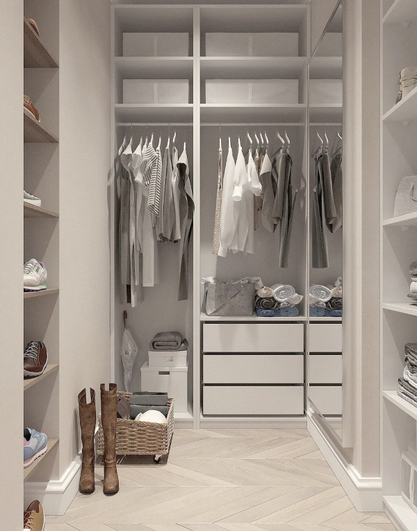 Maximize closet space with these easy steps, photo Image by Виктория Бородинова from Pixabay