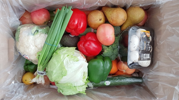 Family Box from Doorstep Grocers