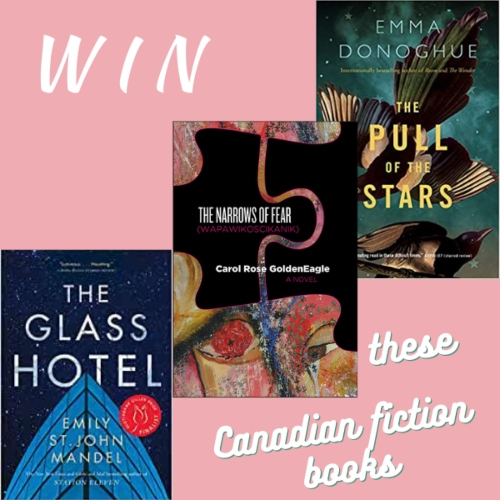 Enter to win these Canadian fiction books for fall 2020.