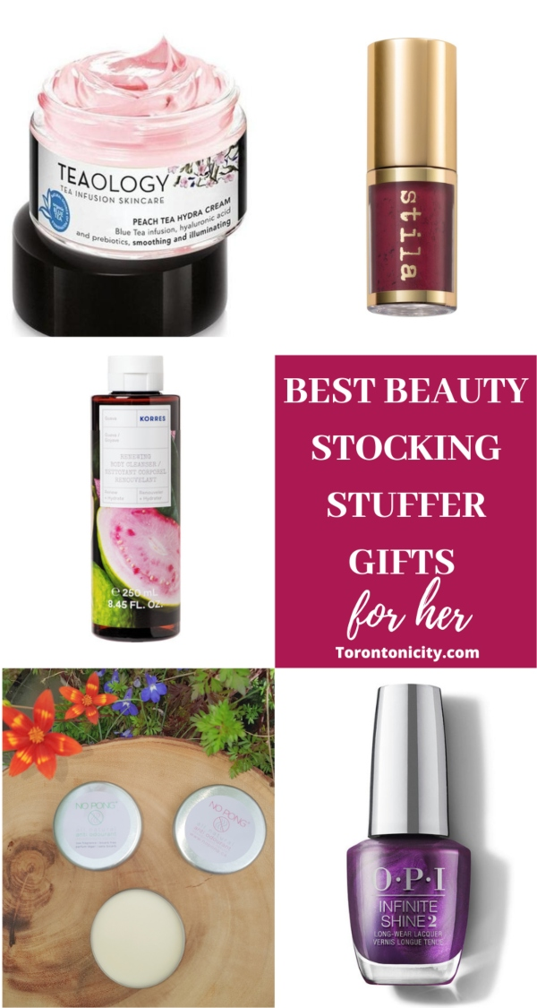 Best Beauty Stocking Stuffer Gifts for her