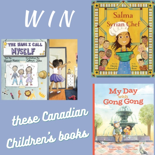 Win these Canadian Children's books