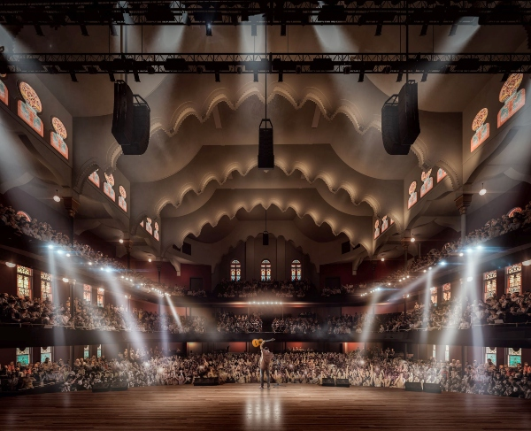 Rendering of Allan Slaight Auditorium. Credit_ KPMB _ Massey Hall
